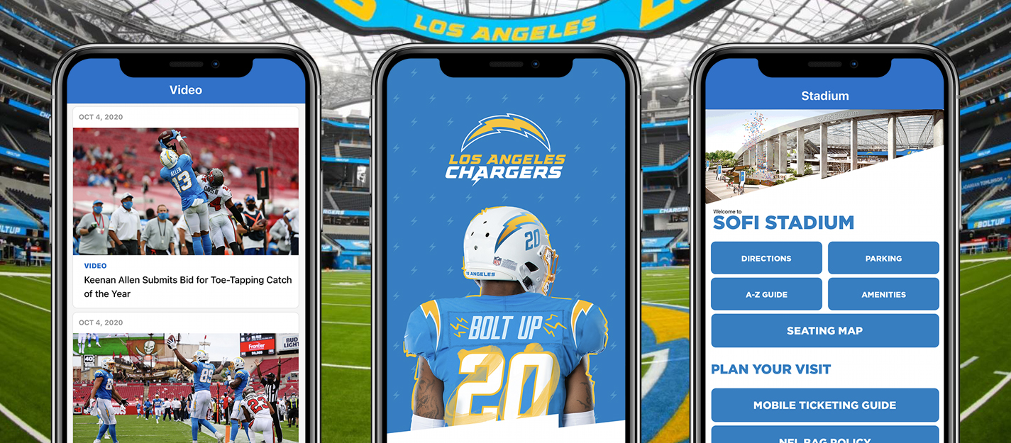Los Angeles Chargers mobile app